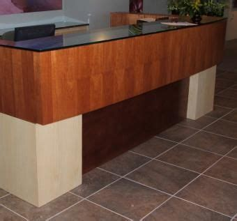 commercial reception desks custom made commercial reception desk by figueroa s