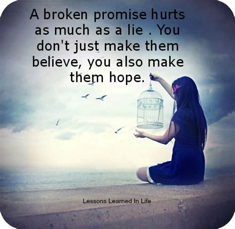 Broken Promises quotes about broken promises and lies www imgkid