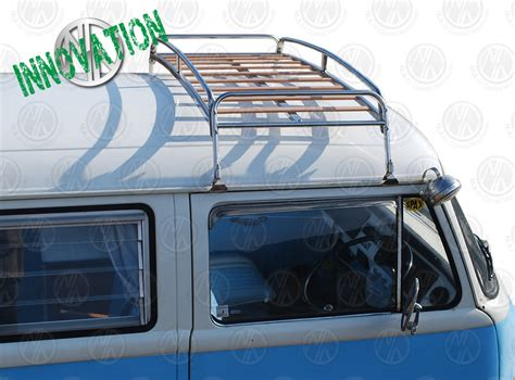 Vw Roof Racks by 0 6m Silver Powder Coated Steel Roof Rack For Vw T2 Bay