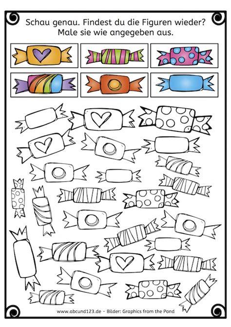 Angebot Muster Kindergarten Wahrnehmung Konzentration Muster Vervollst 228 Ndigen Bonbons Entsprechend Der Vorlage Anmalen
