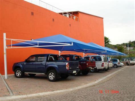 Canvas Car Ports by Shadenet Carports Product Range Nelspruit Mpumalanga