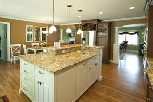 two level kitchen island designs solid wood kitchen cabinets middletown nj by design line