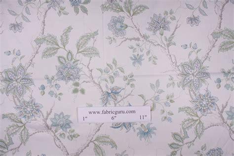 robert allen drapery fabric robert allen meadow view printed cotton drapery fabric in aqua