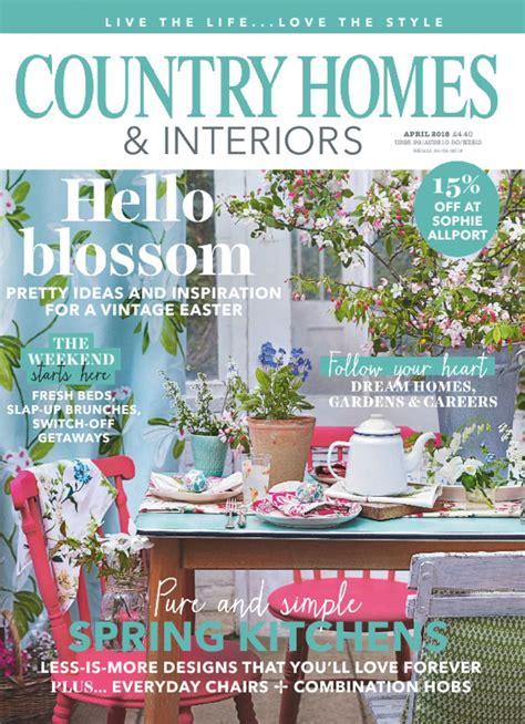 country homes interiors magazine digital