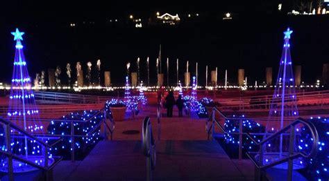 free christmas lights in branson mo missouri part ii forsyth the martin s american adventure