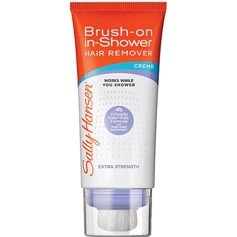 sally hansen free brush on hair remover for purchase the sally hansen brush on in shower hair remover
