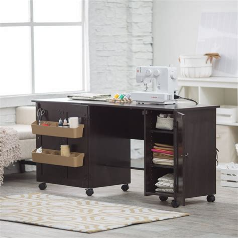 craft cabinet with table 8 best sewing machine tables with cabinet