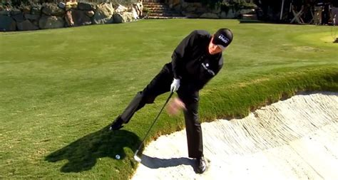 golf spelled backwards did phil mickelson have an affair phil mickelson hits backwards wedge shot at muirfield how