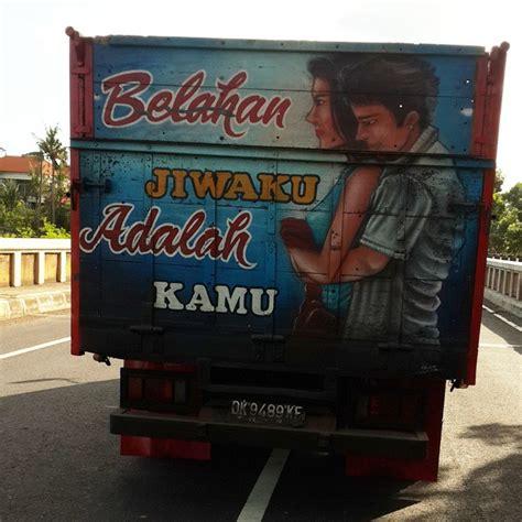 kumpulan gambar lucu dan gokil tulisan di belakang truk 2015 gambar kata