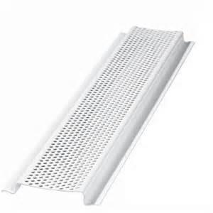 Home Design Center Flooring Inc shop delete 4 96 in l white aluminum soffit vent at lowes com