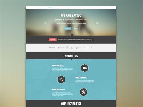 best site to one satigo one page website by balraj chana dribbble
