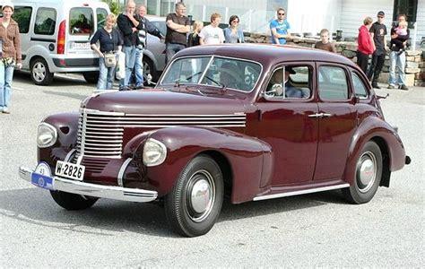 opel kapitan 1939 1939 opel kapitan automobiles allemandes 1930 1970