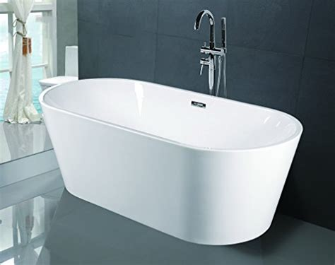 luxury freestanding bathtubs empava a1507w luxury modern bathroom freestanding bathtub