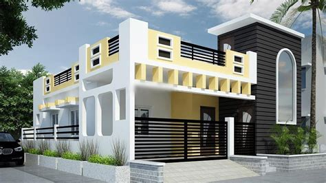 awesome single floor house elevations housing loans