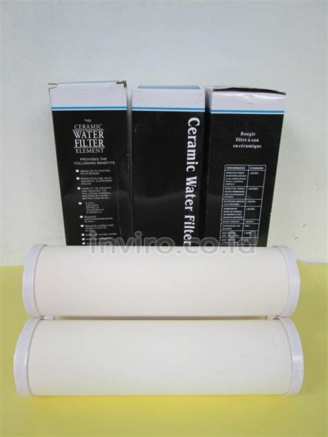 Ceramic Filter Filter Keramik 10 filter cartridge ceramic ukuran 10 quot inviro
