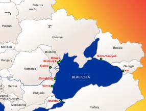 Black Sea On World Map by Black Sea Map