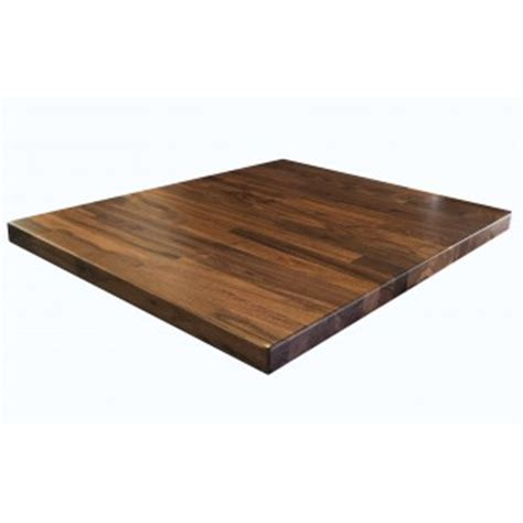 black walnut table top restaurant furniture 24 quot x 30 quot black walnut butcherblock