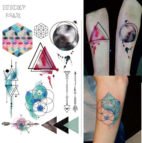 geometric tattoo price popular geometric tattoos buy cheap geometric tattoos lots