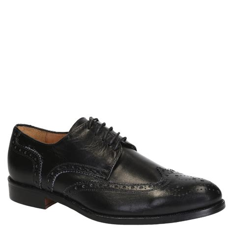 Handmade Leather Brogues - s black leather wingtips brogues shoes handmade