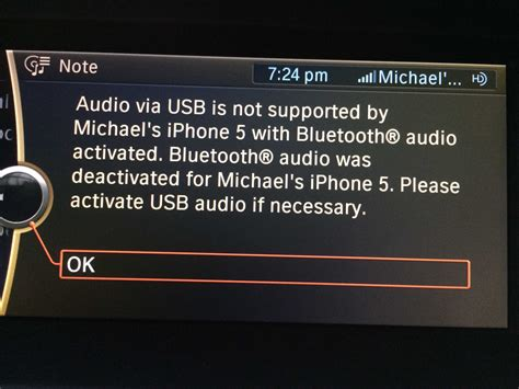 Bmw 1er Bluetooth Audio Streaming by Major Bluetooth Audio Issues Between Iphone And Bmw And No