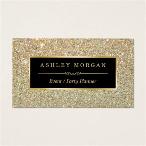 Wedding Planner Business Names by Wedding Event Planner Sassy Gold Glitter Business