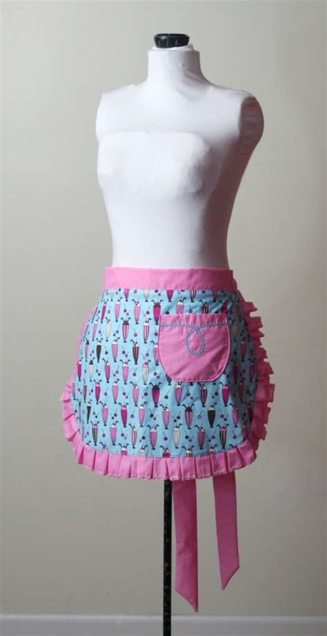pattern for half apron with pockets how to make a half apron diy fashion tutorial whatthecraft