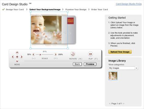 customize fargo debit card template how custom debit credit card designs make accounts sticky