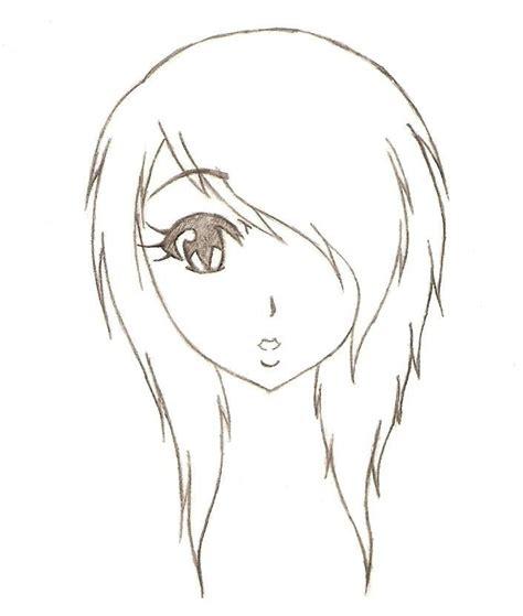 Anime Drawings Easy anime easy anime drawings pictures