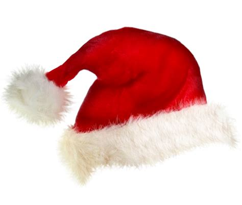 santa hat transparent background christmas image
