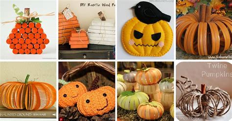 imagenes de halloween reciclables ideas para hacer calabazas de halloween con objetos reciclados