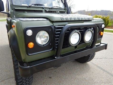 land rover defender 90 convertible 1990 land rover defender 90 convertible restored for sale