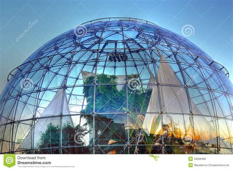 Greenhouse Floor Plan The Bubble Biosphere By Renzo Editorial Stock Photo