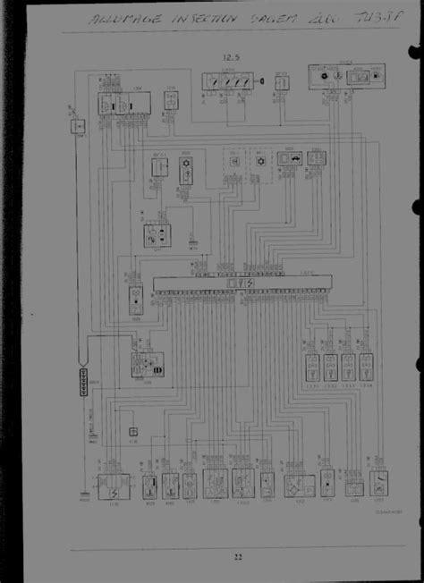 code section 106 alternateur 106 1 4 peugeot m 233 canique 201 lectronique