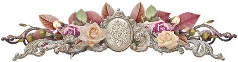 imagenes vintaje png decoraciones florales vintage en png arte digital
