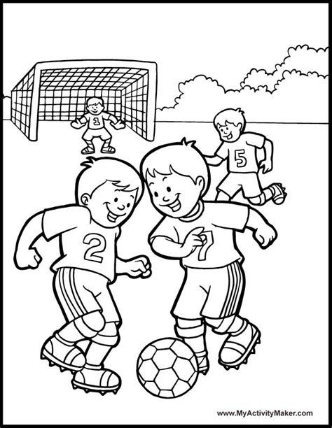 free soccer coloring pages coloring home
