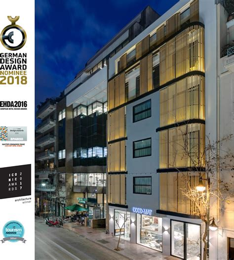 coco mat hotel athens by elastic architects iconic