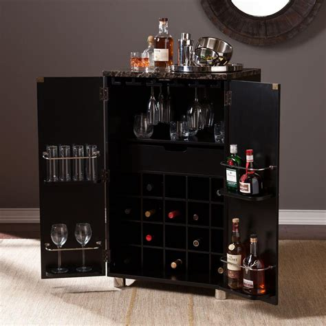 bar top finish home depot southern enterprises jeremine black and multi tonal wood