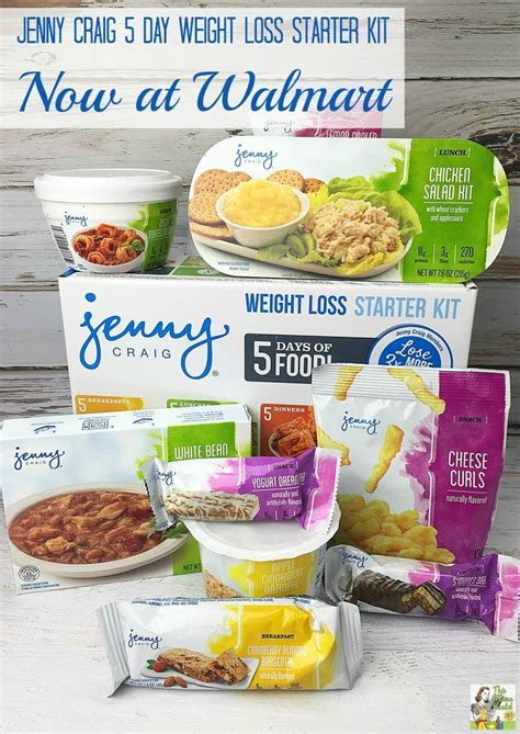 weight loss 4 walmart craig 5 day weight loss starter kit now at walmart