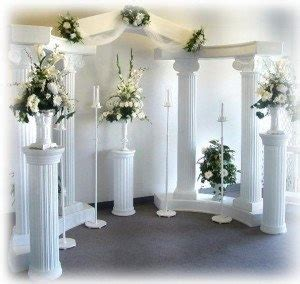 Wedding Backdrop Ideas With Columns by Columns For Backdrop Wedding Ideas