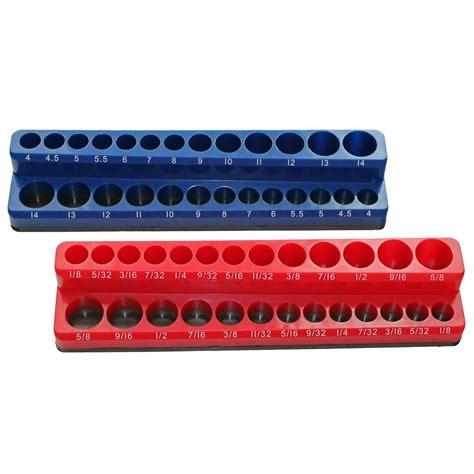 socket and holder magnetic stand up socket holder socket tray organizer