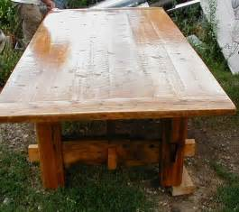 Woodwork barn wood table plans pdf plans