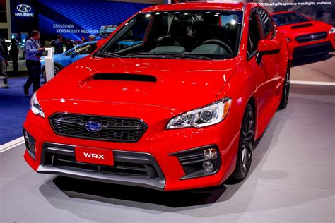 picture of a subaru 2018 subaru wrx picture 702533 car review top speed