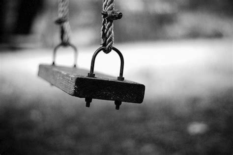 love to swing creative black and white photography ideas balance black