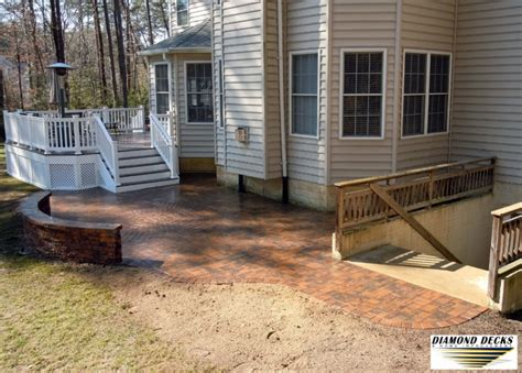 a backyard idea set in severn md premier ponds dc md severn patio