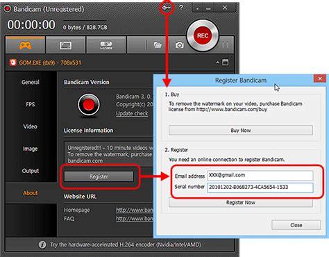bandicam full version serial bandicam full version crack download plus serial key