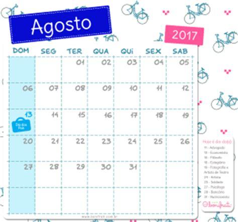 Calendario 2017 Agosto Calend 225 Bonifrati 2017