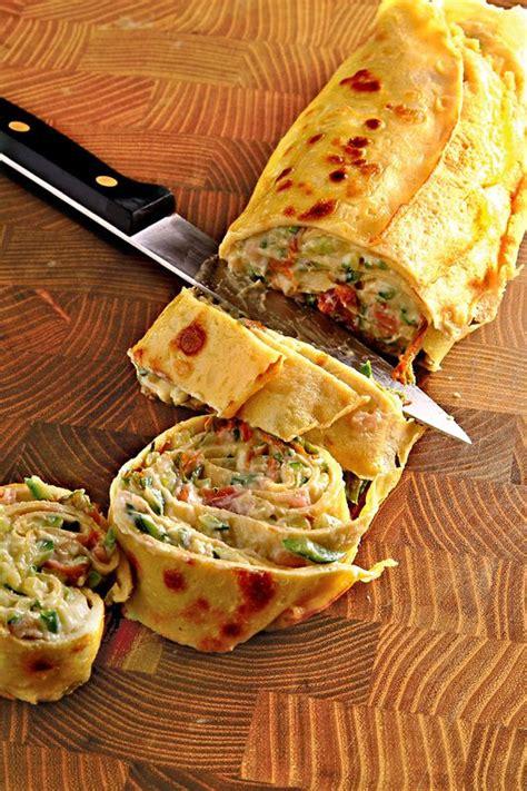 ricette cucina donna moderna rotolo di crespelle con ripieno di ricotta e zucchine