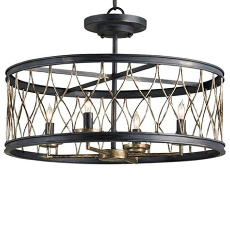 Currey Lighting Fixtures Currey Company Lighting Crisscross Ceiling Mount 9902 Free Shipping