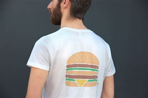 Kazel Tshirt Burger Edition Large colette and mcdonald s team up for a capsule collection