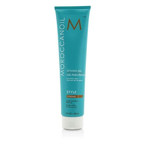 styling gel moroccanoil styling gel strong moroccanoil f c co usa
